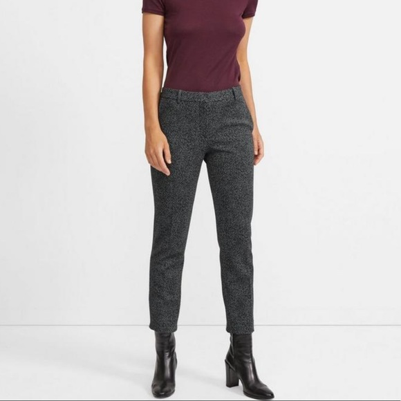 Theory Pants - Theory Knit Crop Ankle Pants.